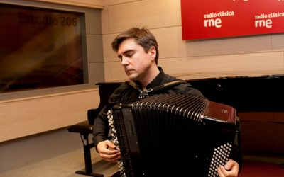 El acordeonista Iñaki Alberdi se une a Musiespaña