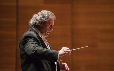 José Ramón Encinar, en la temporada de abono de la Orquesta Sinfónica de Euskadi